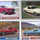 1968 68 FORD MUSTANG SPRINT SIX 2+2 FASTBACK BASEBALL CARD SIZE COLLECTOR