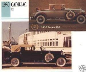 1930 30 CADILLAC V8 SERIES 353 COLLECTOR COLLECTIBLE