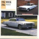 1962 62 BUICK WILDCAT COLLECTOR COLLECTIBLE