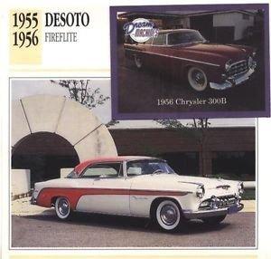 1955 55 DESOTO DE SOTO FIREFLITE HARDTOP COLLECTOR COLLECTIBLE