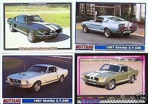 1967 67 FORD FORDS MUSTANG SHELBY GT 500 GT500 FASTBACK COLLECTIBLE MUSTANGS