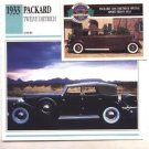 1933 33 PACKARD TWELVE DIETRICH CONVERTIBLE SEDAN COLLECTOR COLLECTIBLE