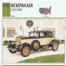 1926 26 RICKENBACKER SUPER SPORT COLLECTOR COLLECTIBLE