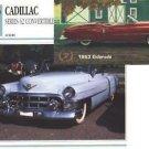 1953 53 CADILLAC SERIES 62 CONVERTIBLE ELDORADO COLLECTOR COLLECTIBLE