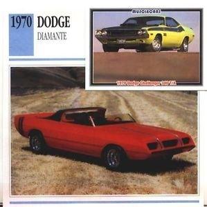 1970 70 DODGE DIAMANTE MOPAR COLLECTOR COLLECTIBLE