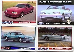 1987 87 FORD MUSTANG GT LX COLLECTIBLE COLLECTOR FORDS