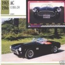 1963 63 1964 64 1965 65 1966 66 AC COBRA 289 FORD CARROLL SHELBY COLLECTOR