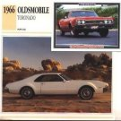 1966 66 OLDS OLDSMOBILE TORONADO COLLECTOR COLLECTIBLE