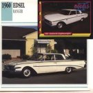 1960 60 FORD EDSEL RANGER COLLECTOR COLLECTIBLE