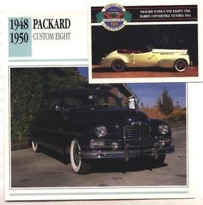 1950 50 PACKARD CUSTOM EIGHT COLLECTOR COLLECTIBLE