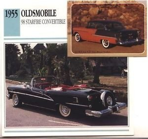 1955 55 OLDS OLDSMOBILE 98 STARFIRE CONVERTIBLE COLLECTOR COLLECTIBLE