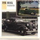 1936 36 BUICK ROADMASTER SEDAN COLLECTOR COLLECTIBLE