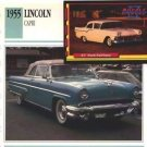1955 55 LINCOLN CAPRI CONVERTIBLE COLLECTOR COLLECTIBLE