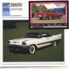 1957 57 DESOTO DE SOTO ADVENTURER COLLECTOR COLLECTIBLE