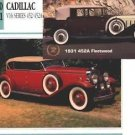 1930 30 CADILLAC SERIES 452A V16 PHAETON FLEETWOOD COLLECTOR