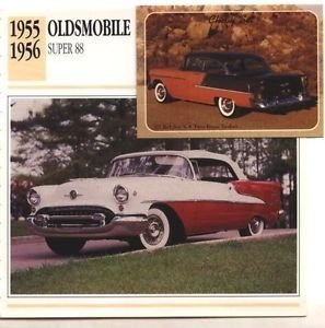 1955 55 OLDS OLDSMOBILE SUPER 88 CONVERTIBLE COLLECTOR COLLECTIBLE