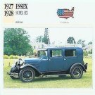 1927 27 1928 28 ESSEX SUPER SIX HUDSON COLLECTOR COLLECTIBLE