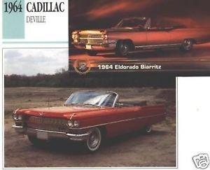 1964 64 CADILLAC DEVILLE ELDORADO BIARRITZ COLLECTOR COLLECTIBLE