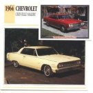 1964 64 CHEVROLET CHEVY CHEVELLE MALIBU COLLECTOR COLLECTIBLE