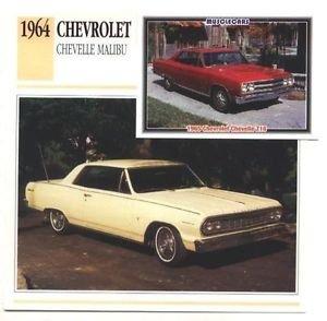 1964 64 CHEVROLET CHEVY CHEVELLE MALIBU COLLECTOR COLLECTIBLE