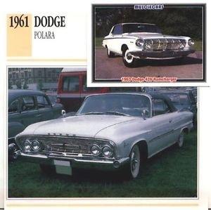 1961 61 DODGE POLARA CONVERTIBLE MOPAR COLLECTOR COLLECTIBLE
