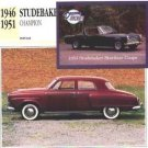 1946 1947 1948 1949 1950 1951 STUDEBAKER CHAMPION COLLECTOR COLLECTIBLE