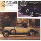 1930 30 STUDEBAKER COMMANDER CONVERTIBLE COLLECTOR COLLECTIBLE