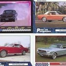 1966 66 FORD MUSTANG COUPE COLLECTIBLE CARDS MUSTANGS