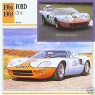 1969 69 FORD GT40 GT 40 LE MANS LEMANS RACE COLLECTOR COLLECTIBLE