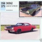 1969 69 DODGE CORONET SUPER BEE SUPERBEE 440 COLLECTOR MOPAR COLLECTIBLE