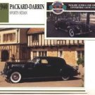 1940 40 PACKARD DARRIN SPORTS SEDAN COLLECTOR COLLECTIBLE