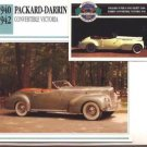 1941 41 PACKARD DARRIN CONVERTIBLE VICTORIA COLLECTOR COLLECTIBLE