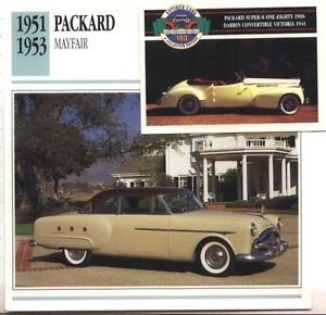 1951 51 PACKARD MAYFAIR HARDTOP COUPE COLLECTOR COLLECTIBLE