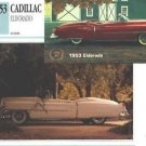 1953 53 CADILLAC ELDORADO COLLECTOR COLLECTIBLE COLLECTOR