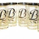 """B"" Glasses - Vintage 50s/60s"