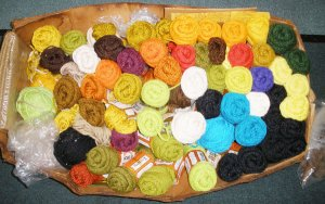 Rug Art - Crafting Supply Lot