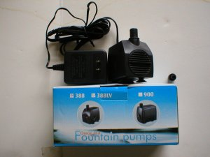 PP-388LV -195GPH Submersible Fountain / Koi Pond Pump