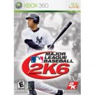 Major League Baseball 2K6 Xbox 360 New