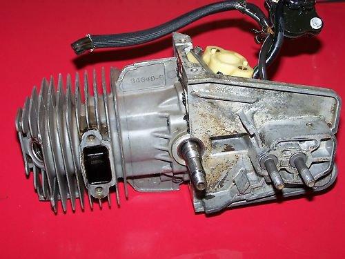 HOMELITE 245  ENGINE CYLINDER AND PISTON