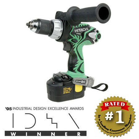 "Hitachi DS18DMR 18V Cordless 1/2"" Driver Drill, Electric Brake"