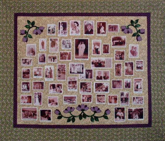 HANDMADE memory quilt