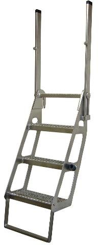 Semi Flatbed Truck Trucker Ladder Retractable Pro Step Prostep