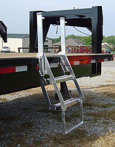 Drop Deck Truck Trucker Retractable Ladder Pro Step Prostep