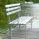 Pro-Step ProStep 6 Foot Aluminum Bench for Boat Docks, Parks, Bus Stops