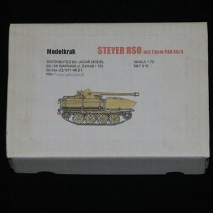 Rare Modelkrak 1:72 STEYER RSO mit 7.5cm Pak 40/4