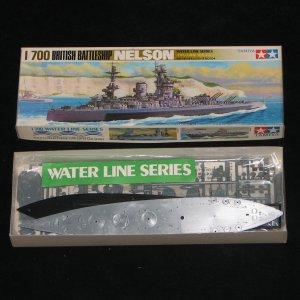 British Battleship Nelson Tamiya 1:700