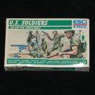 US Soldiers WW2 Plastic Figures 1:72 Esci Ertl