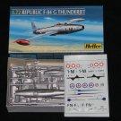 Heller 1:72 F-84G Thunderjet