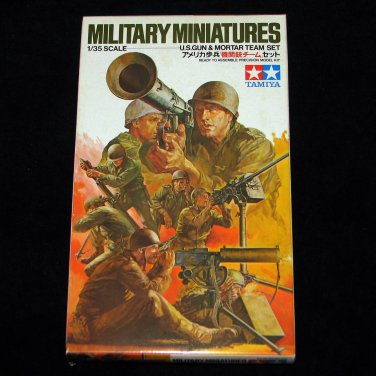 Tamiya 1:35 US Gun & Mortar Team