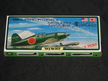 SkyWave 1:700 B-29 vs J2M Jack and J1N Irving
